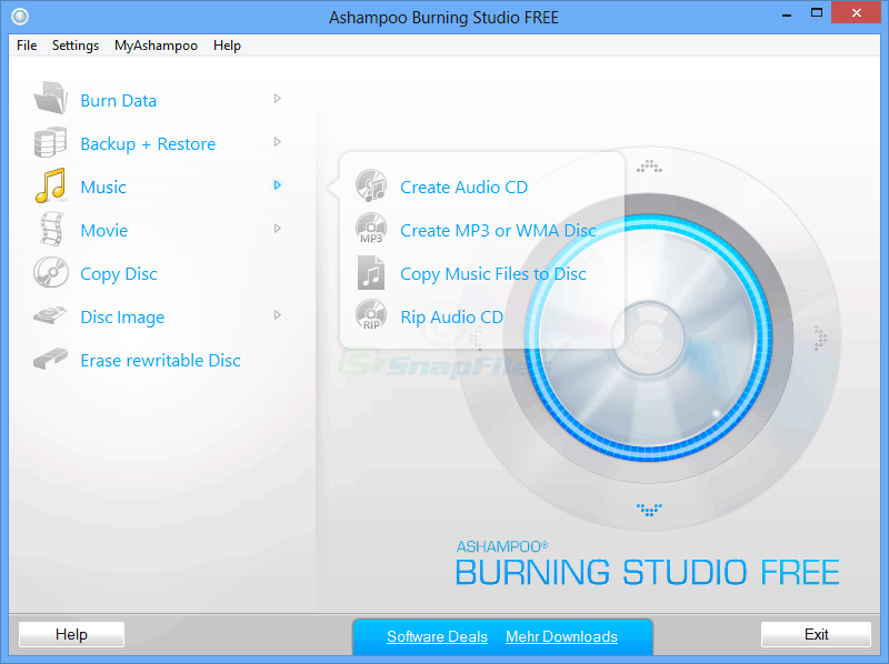 Ashampoo Burning Studio 20.0.2 Crack With Serial Key 2019 Free