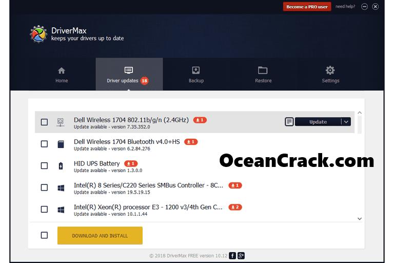 DriverMax Pro 11.12 Crack All License Key Free Download {Latest Version}