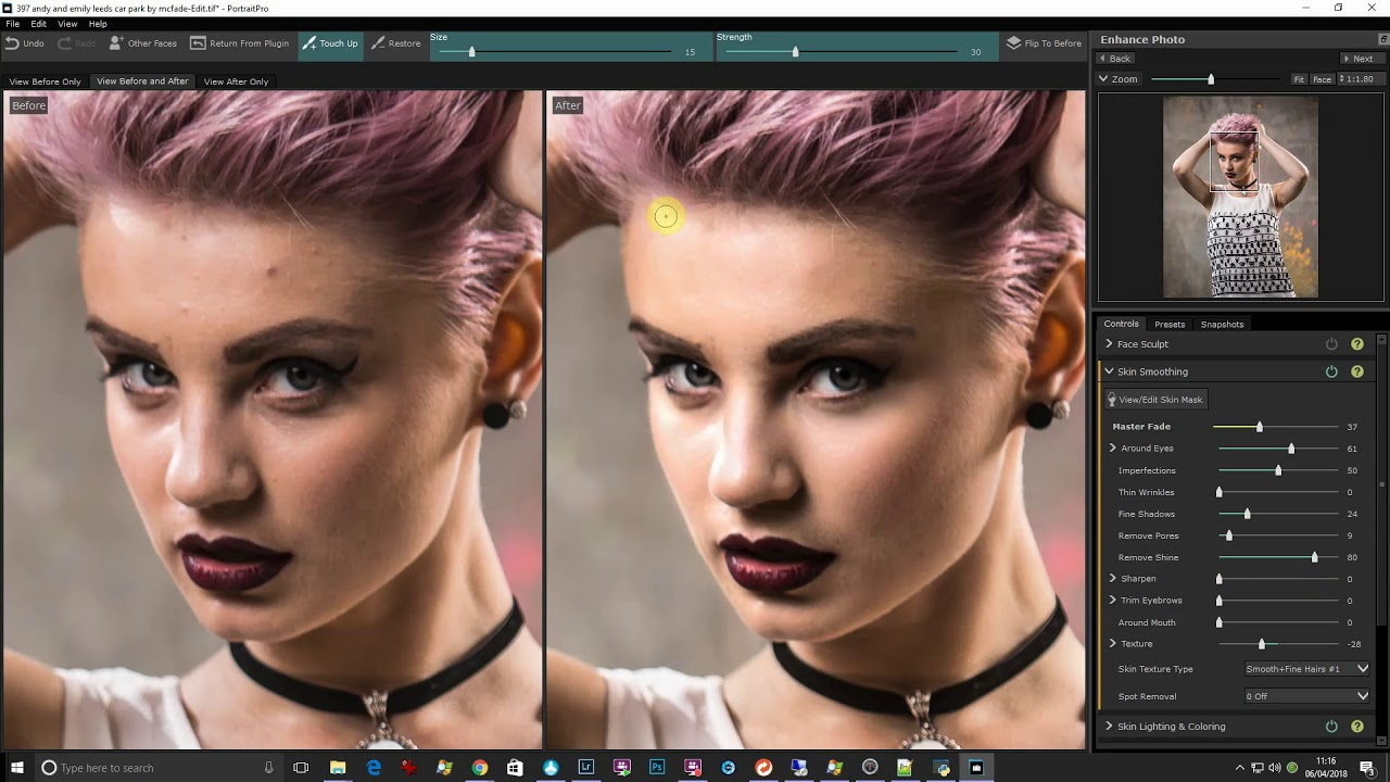 Portrait Pro Studio 18.4.3 Body Crack + License Key {Aug 2019}