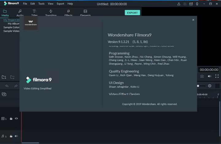 Wondershare Filmora 9.2.7.11 Crack Registration Codes Till 2020/2021
