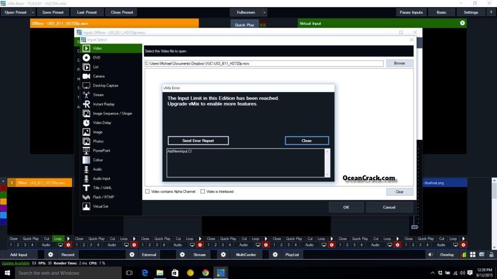 vMix 22.0.0.69 Crack License 23 Plus Keygen 2019 {Patch}