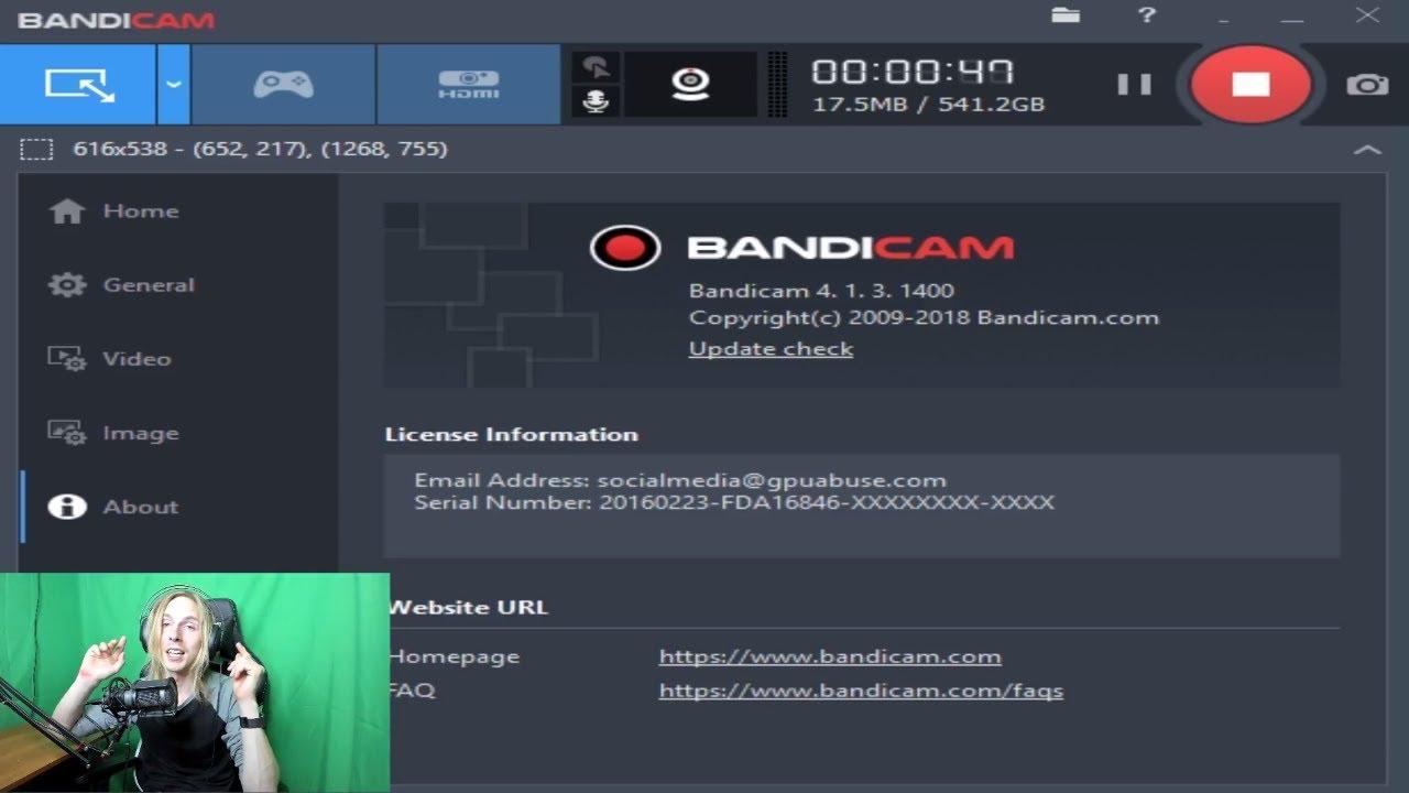 Bandicam 4.5.3.1608 Crack{ Activation Keys Torrent Download 2020}