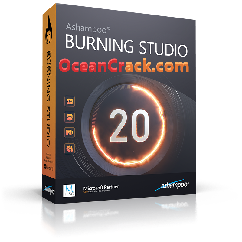 Ashampoo Burning Studio 20.0.2 Crack With Serial Key 2019 Free