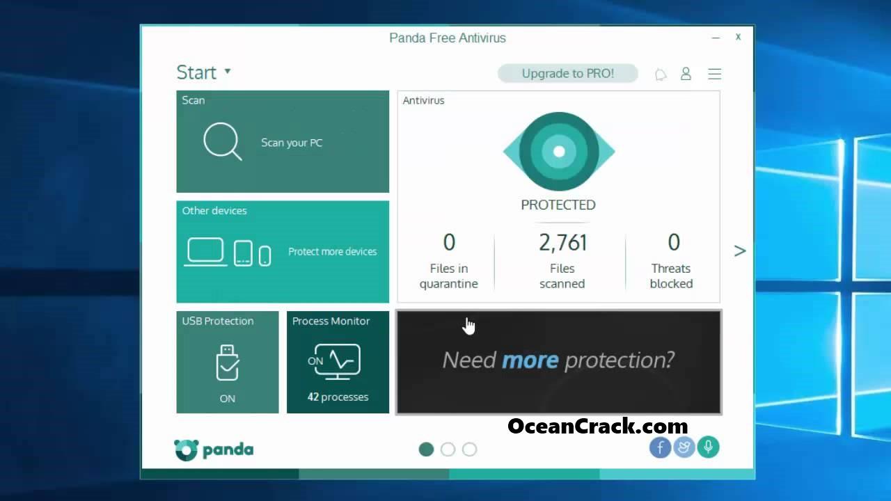 Panda Antivirus Pro 19.00.02 Crack Keygen Premium Keys 2020 {Free PC}
