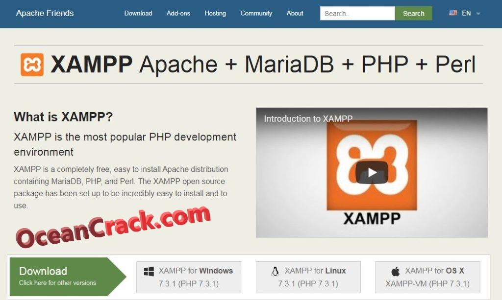XAMPP 7.3.8 Crack + Serial Number Free Software Download