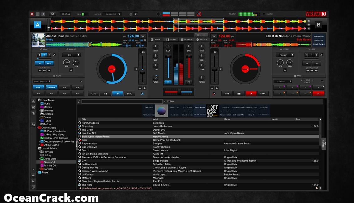 Virtual DJ Pro 2020 Build 5308 Crack Plus All Serial Keys 2019 {Latest}