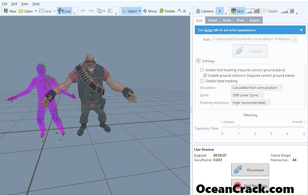 iPi Mocap Studio 4.2.0.235 Crack License Key With Keygen Free 2019