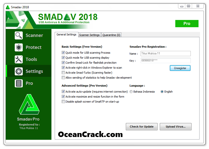 Smadav 12.9 Crack + Serial Keys With Keygen 2019 Free Download [Latest]