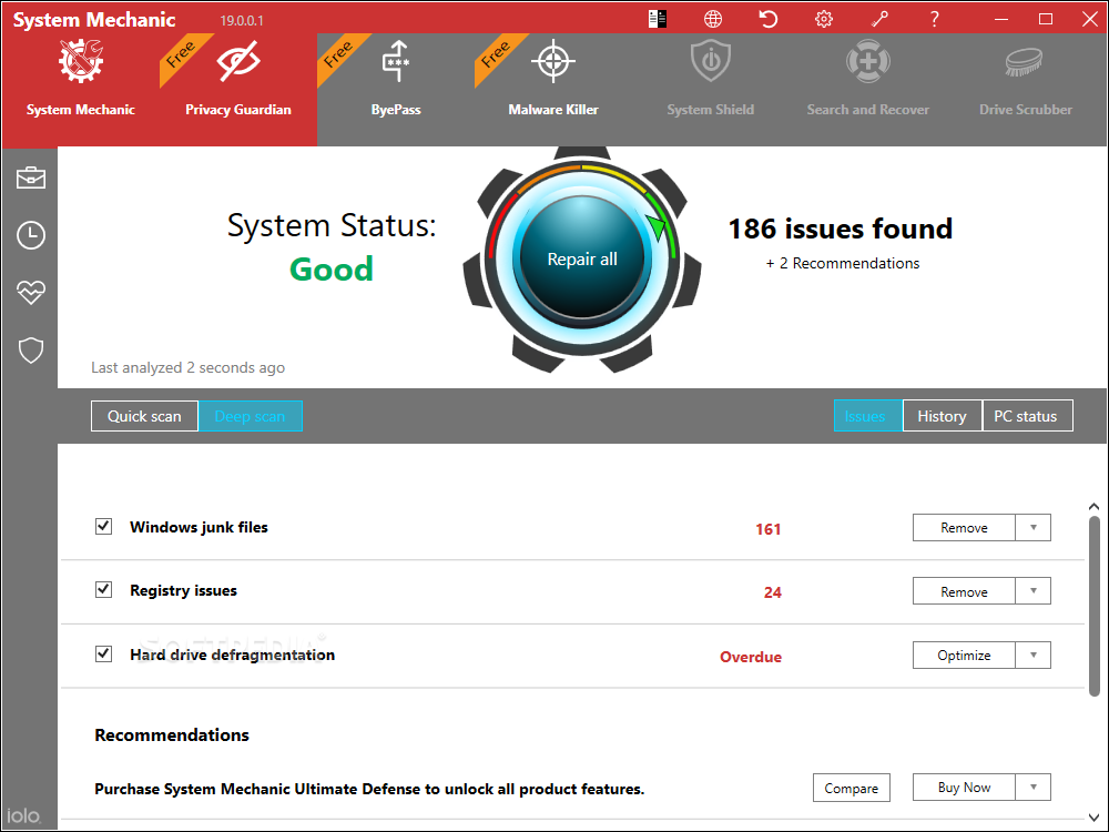 System Mechanic Pro 20.0.0.4 Crack + Activation Key 2020