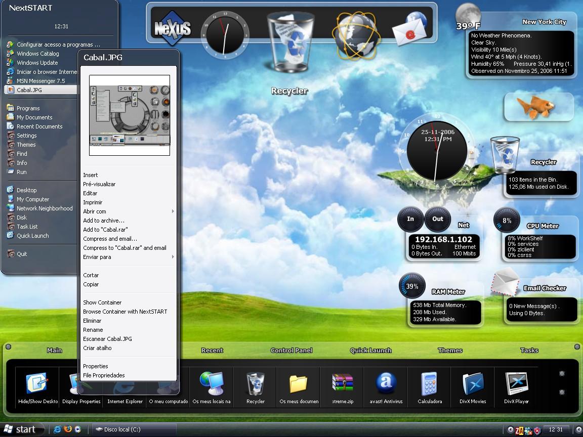 Winstep Nexus Ultimate 19.2 Crack Full Free Download [Latest]
