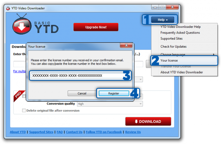 YTD Video Downloader PRO Crack + Patch 2019 Full Version